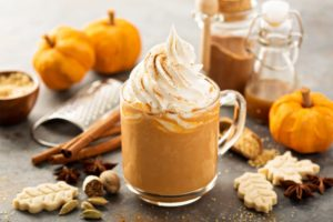 Hot drinks like this pumpkin spice can harm oral health